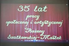 Benefis Pani Bożeny Szatkowskiej-Mostek