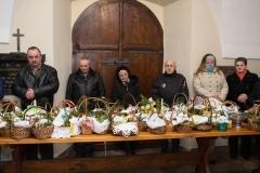 Święcenie pokarmów w pińczowskich parafiach