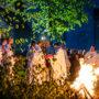 Wigilia Wielkanocna – poświęcenie ognia i wody chrzcielnej – fotorelacja