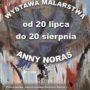 DEBIUTY - Anna Noras - zaproszenie na wystawę