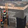 Zawalił się strop w nowo budowanym obiekcie w Pińczowie