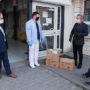 Burmistrz przekazał dla Szpitala Powiatowego w Pińczowie środki ochrony osobistej