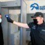 Wejście do jednostki penitencjarnej - brama