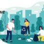 Akcje sprzątania śmieci w gminie Pińczów